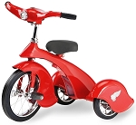 Retro Style Red Bird Steel Tricycle