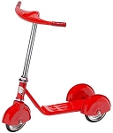 Retro Style 3 Wheel Scooter RED