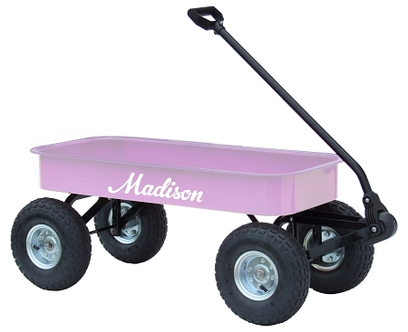 Bella Junior Size Steel Wagon Lavender