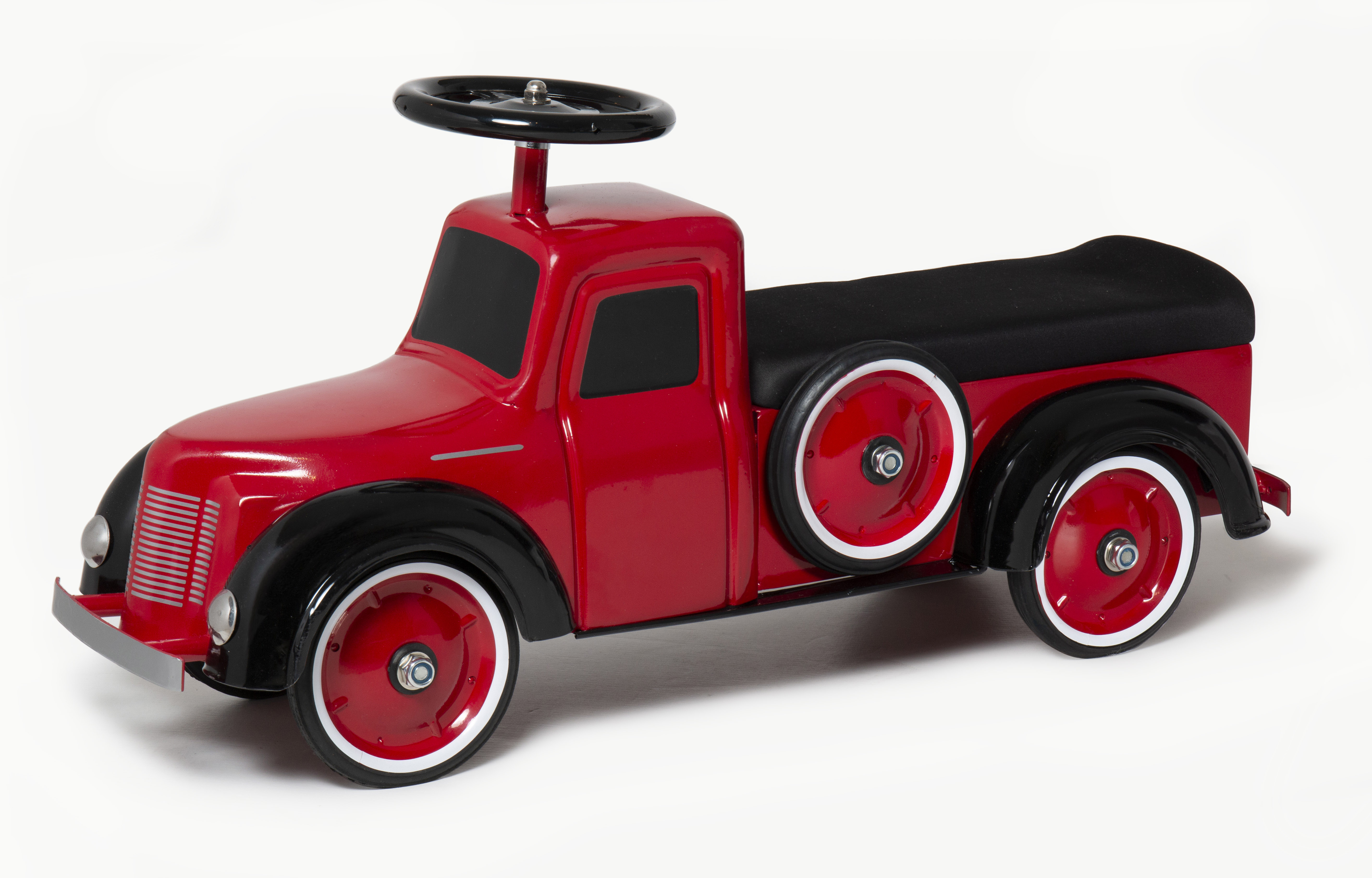 Little Red Pickup Truck Steel Foot to Floor Scoot-Ster