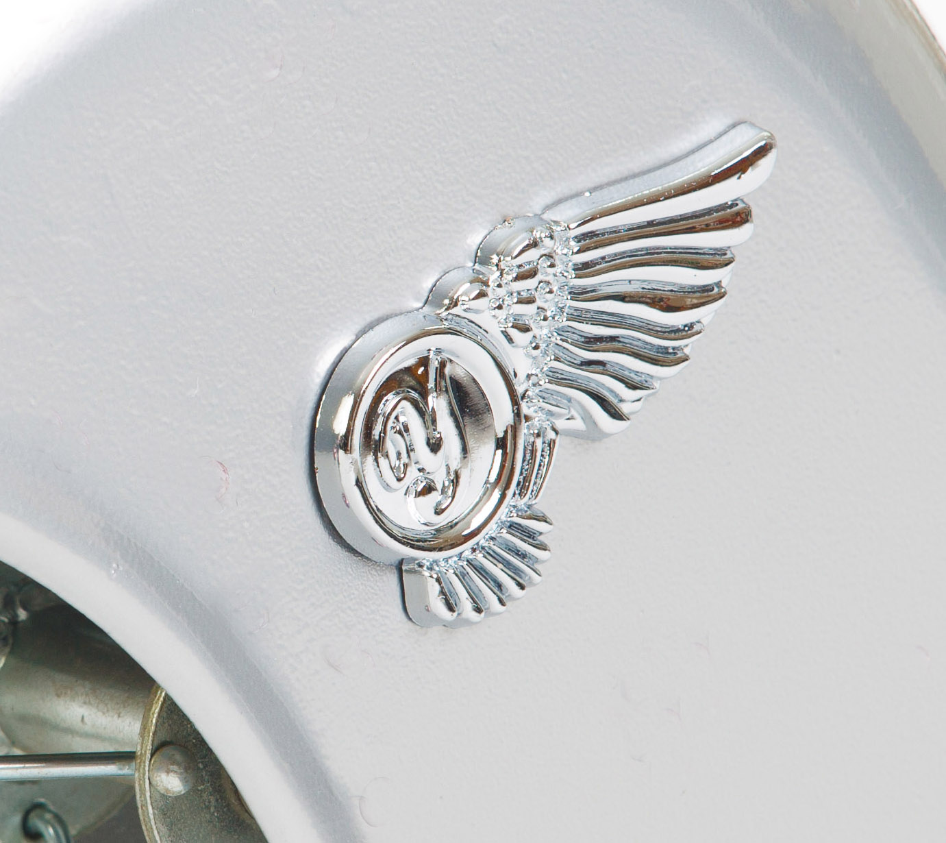 Wing Emblem x2 Retro Tricycle
