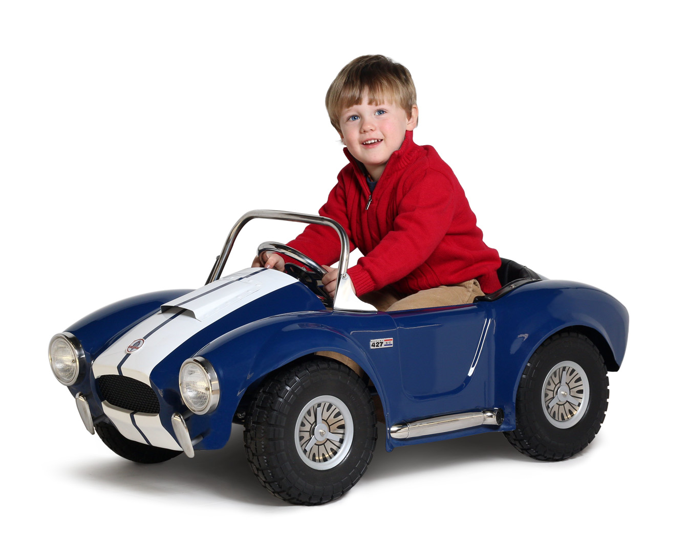 Shelby cobra steel childs pedal car limited edition