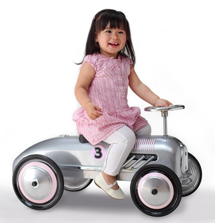 Silver Streak Foot to Floor Retro Racer PINK
