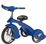 Retro Style Blue Jay Steel Tricycle