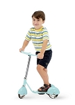 Retro Style 3 Wheel Kick Scooter Aqua