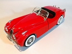 Ertl Hamilton Jaguar 1948 Red Roadster Die Cast Model