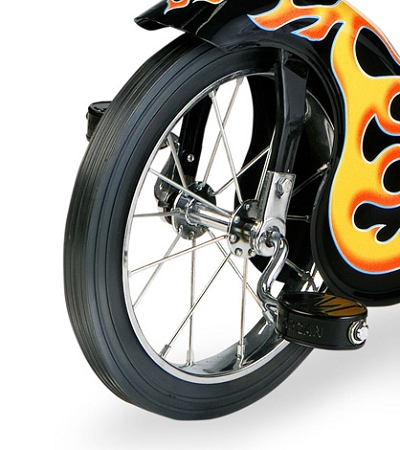 Replacement Retro Tricycle Front Wheel