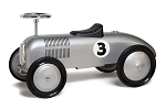 Silver Racer Foot to Floor Retro Racer