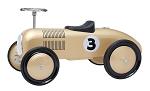Metalic Gold Racer Foot to Floor Retro Racer