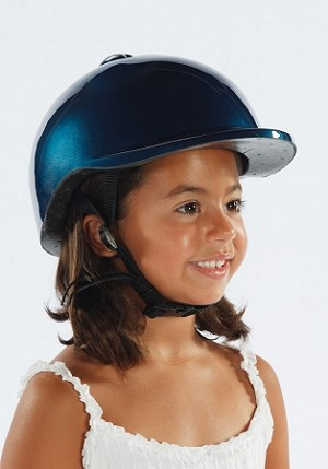 Childs Bike Helmet Blue
