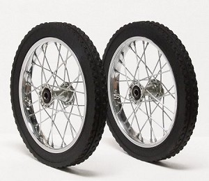 800lb rated wheel set