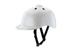 Childs Bike Helmet Silver