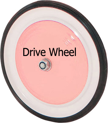 Replacement Drive wheel for Morgan Cycle Pedal Car