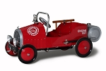 Retro Style Fire Engine Pumper Pedal Car