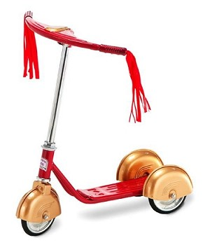 Red Gold Scooter
